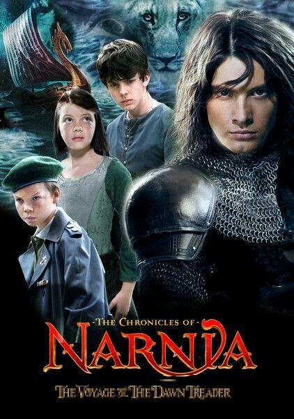 Caspian Lucy Edmund Eustace Narnia Chronicles Of Narnia Narnia 3