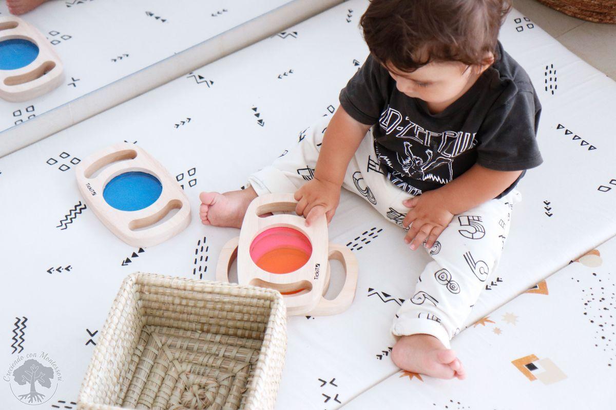 Ambiente Preparado Montessori Materiales Para Bebé De 6 A 12 Meses Creciendo Con Montessori Montessori Bebé Montessori Bebe