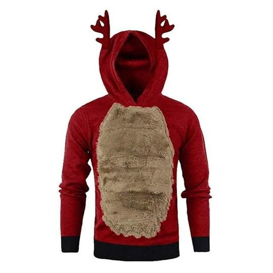 the best attitude 16a7a bf2aa Hoodie Sweatshirt Brand Men Autumn Winter Xmas Hoody ...