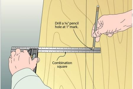 Hole in one makes an above-par marking gauge | WOOD Magazine