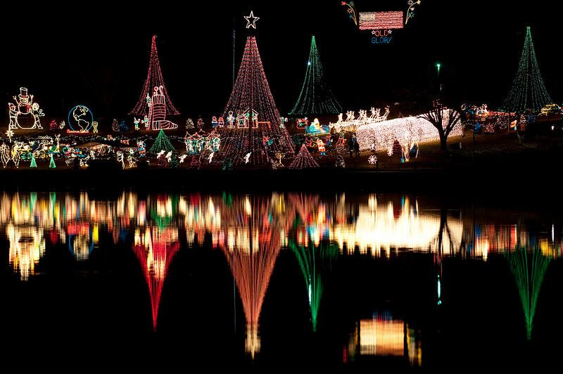 Marble Falls Christmas Lights.Drive Through The Picturesque Hill Country To See The Marble
