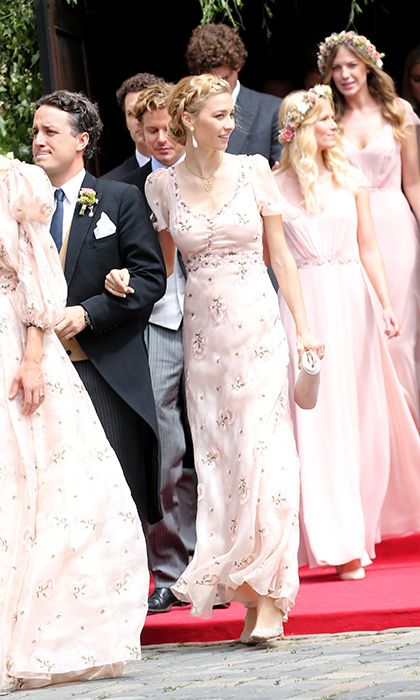 The Most Beautiful Society Weddings Of 2016 Beatrice Borromeo Bridesmaid Fashion