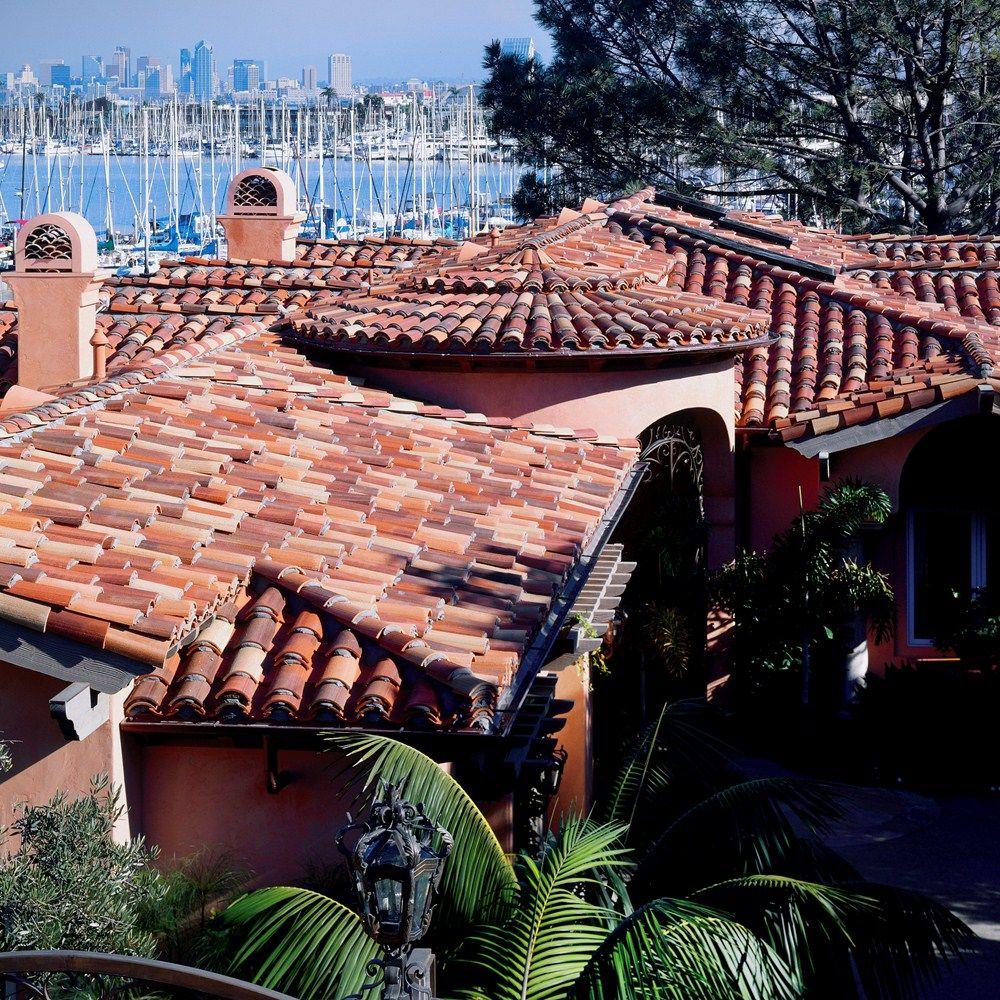 Vanquishblue Luxuryhomes Roof Claytileroof Roofing Mediterranean Style Homes Cool Roof