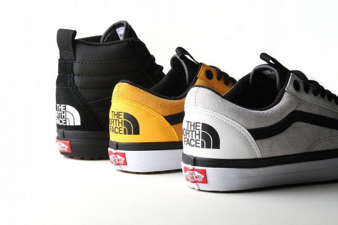 north face scarpe vans