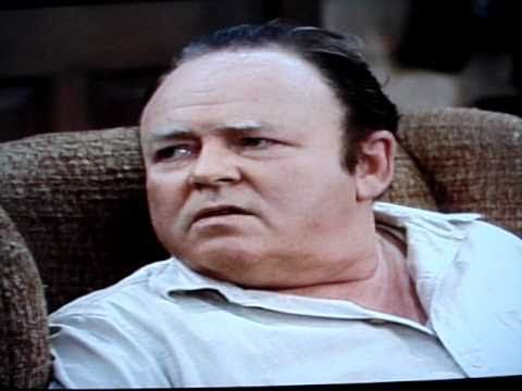 Archie Bunker on Cave Women, Cave Men & First Fags