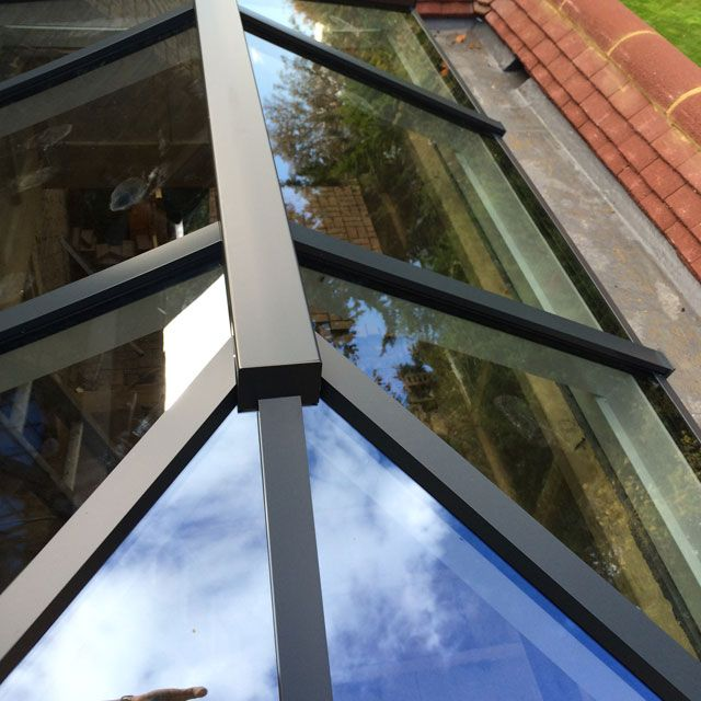 Aluminium Roof Lantern Skylight And Flat Roof Skylight