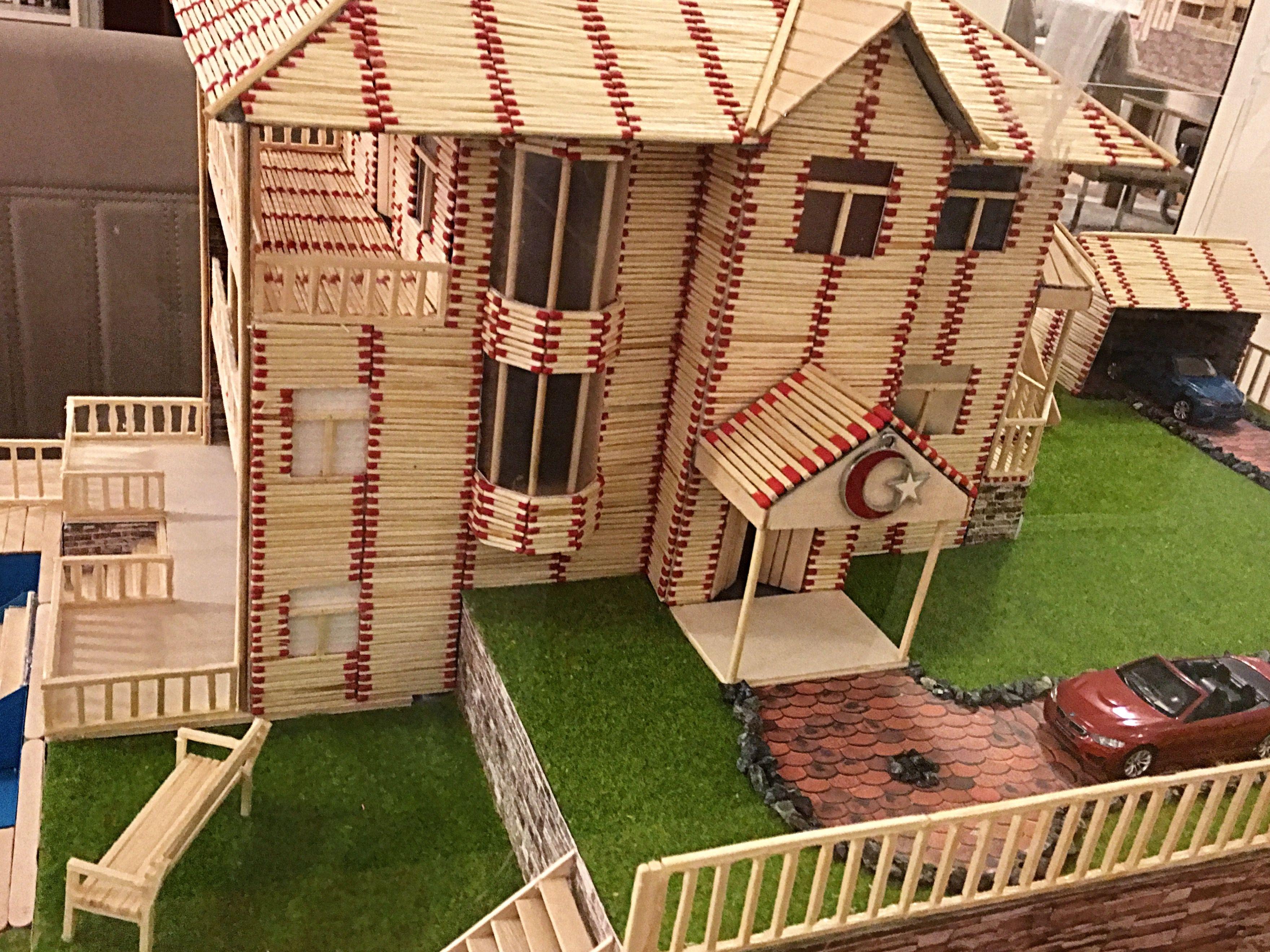 Streichholzer Basteln Hobby Matches Art Hobbys Home Art Und Art