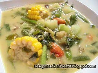 Resep Sayur Lodeh Bumbu Sederhana Masakan Sunda Resep Masakan Resep Masakan Indonesia Masakan