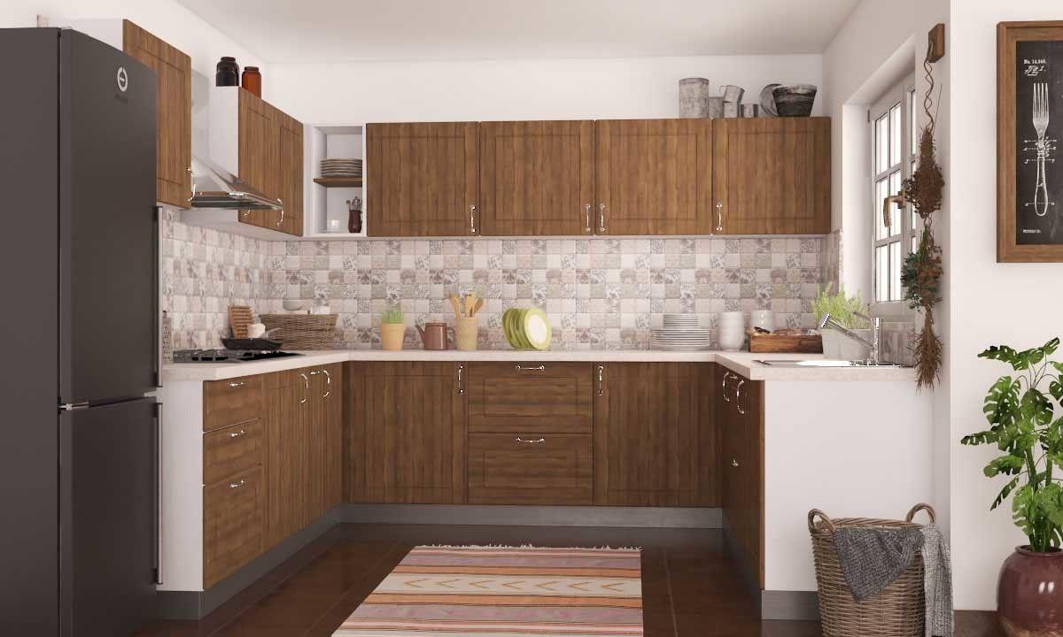 Gannet U Shaped Kitchen  Mygubbi  Pinterest  Interiors Online Unique Modular Kitchen U Shaped Design Decorating Inspiration