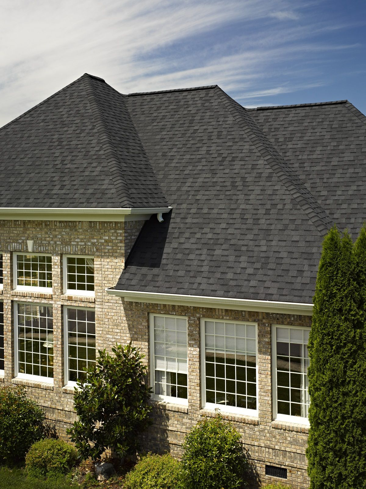 Best Certainteed Landmark Roofing In Moire Black 400 x 300