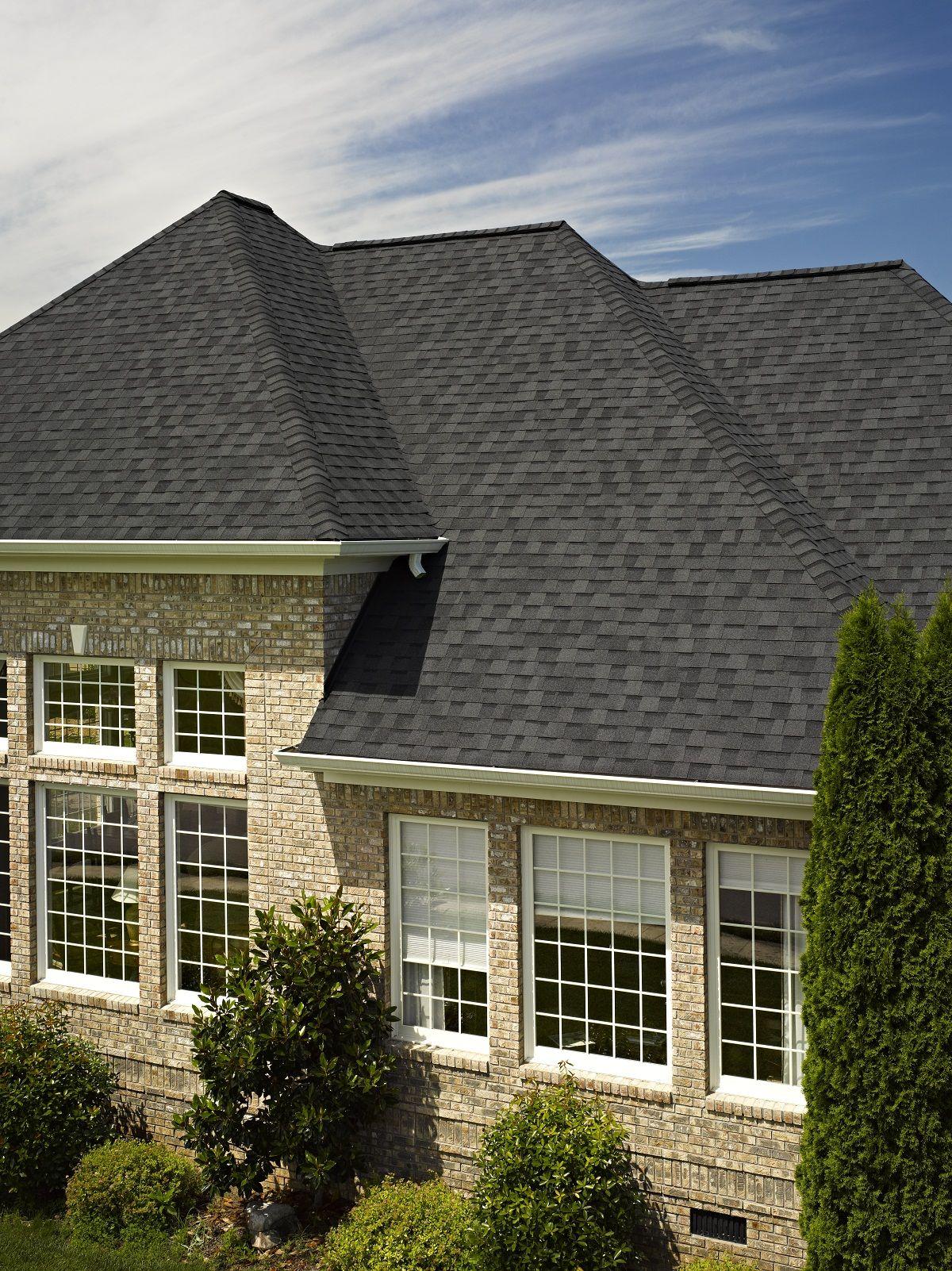 Best Certainteed Landmark Roofing In Moire Black Landmark 400 x 300