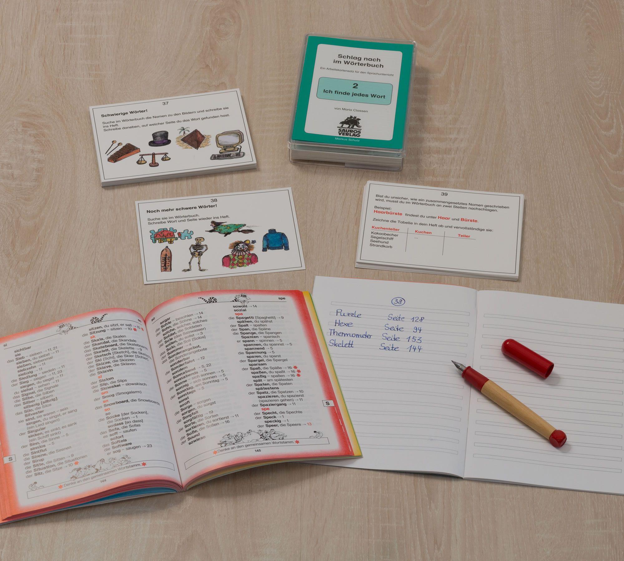 Satzglieder kennenlernen