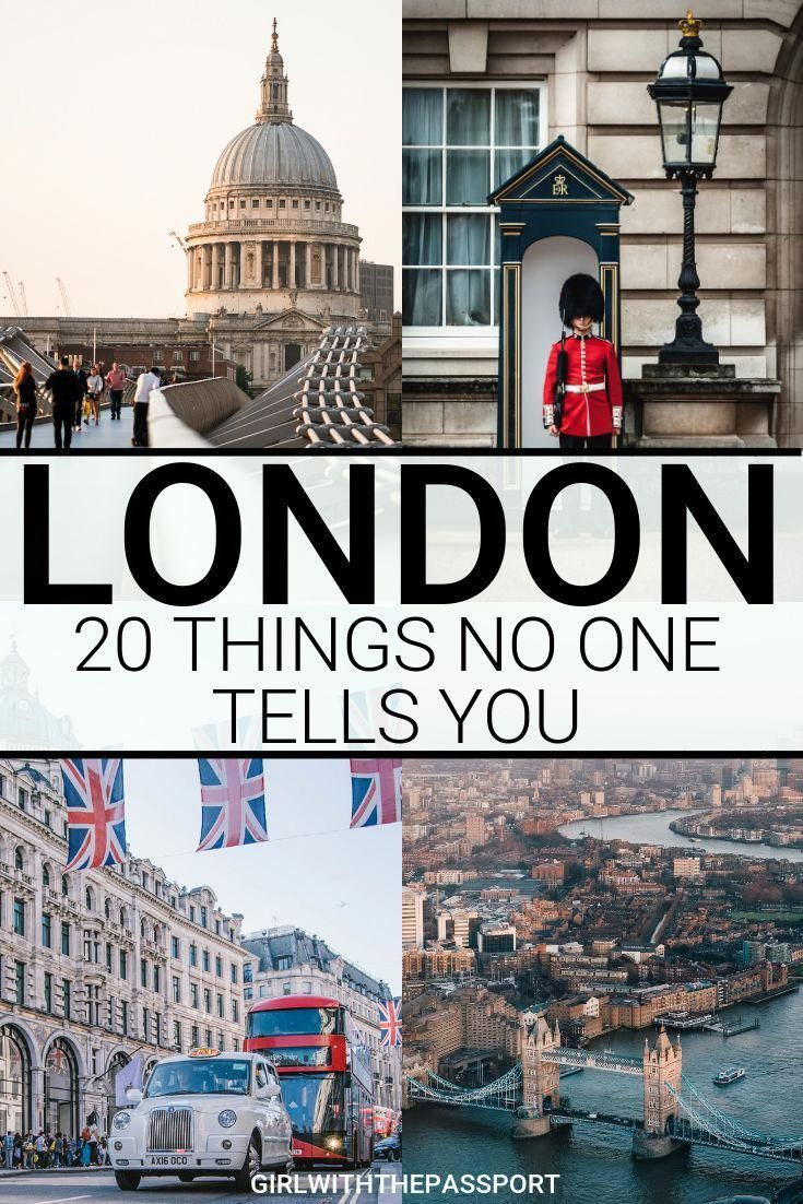 Traveling to London for the first time (or 20th)? Then check out this London travel guide that is filled with expert London travel tips for first-time visitors. You'll also find 20 of the most common mistakes that newbie visitors make and find out how to avoid them, and any grossly overrated tourist traps. #londontravel #englandtravel #Londontraveltips #LondonGuide #travelfrases