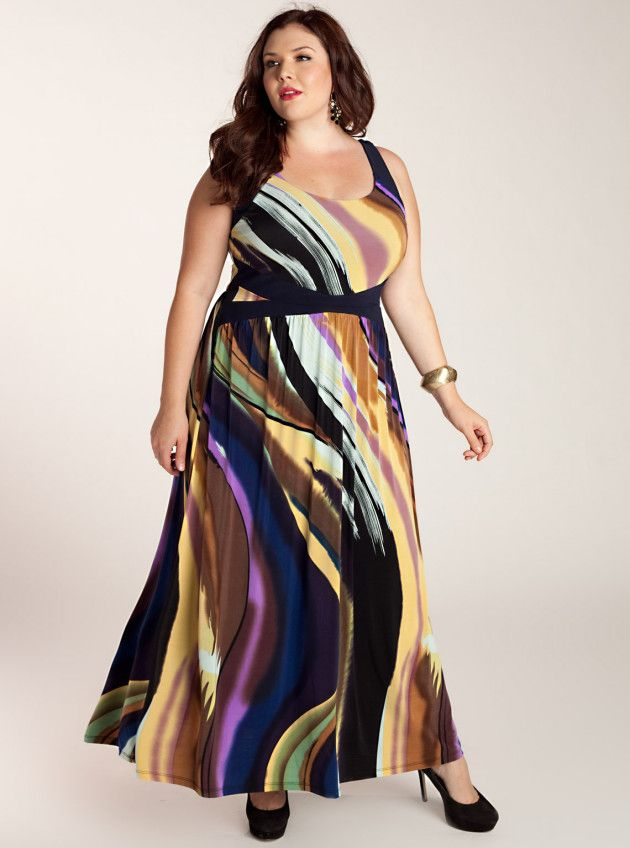 403a3fe964875 Plus Size Spring Summer Collection Maxi Dress 2014