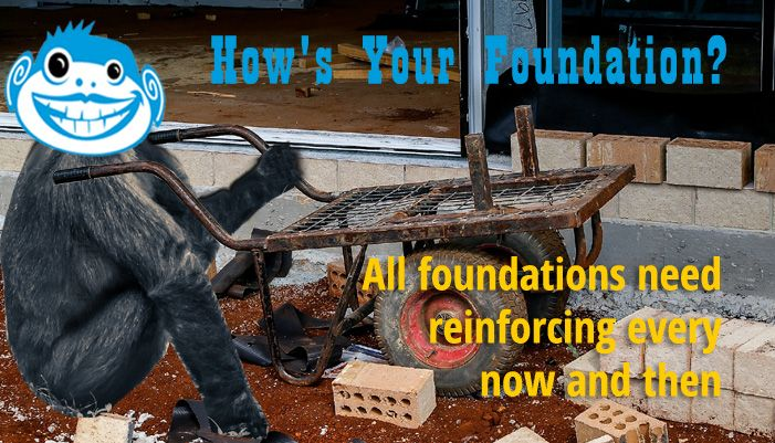 Do Your Business Foundations Provide Solid Footing? - http://barrelomonkeyz.com/business-foundations-provide-solid-footing/  As I write this, Oroville Dam in northern California is still in crisis mode, but hasn't been breached. Hopefully it will not  . . . and prayers go out to all in the potential path of destruction. As I've been watching the news and catching updates on my favorite feeds the last few days, it's...