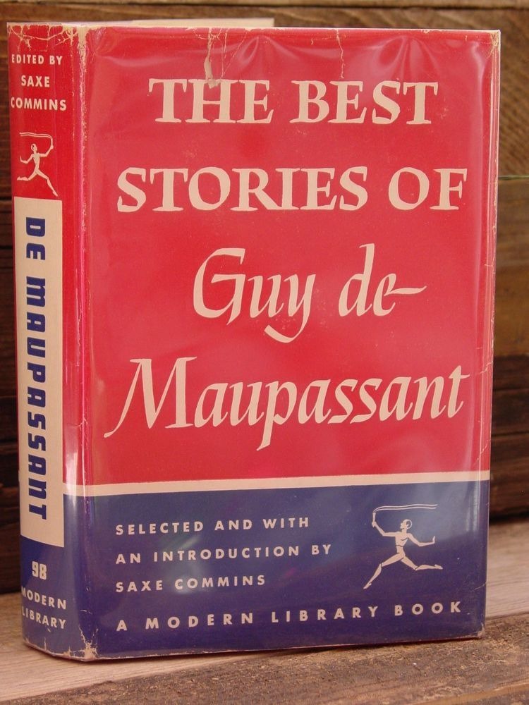 Modern Library Best Stories Of Guy De Maupassant Ml 98 Hbdj Classics