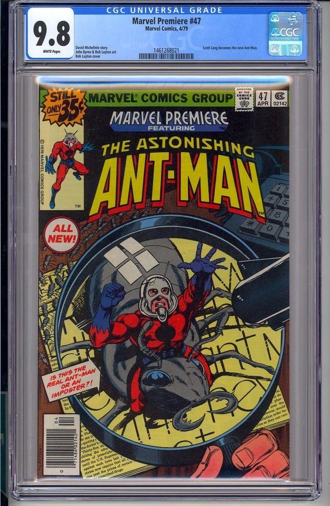 MARVEL PREMIERE #47  CGC 9.8 White Pages  Marvel Comics 4/79 Scott Lang Ant-Man https://t.co/RyLPB4KNxK https://t.co/uUUSQF0207