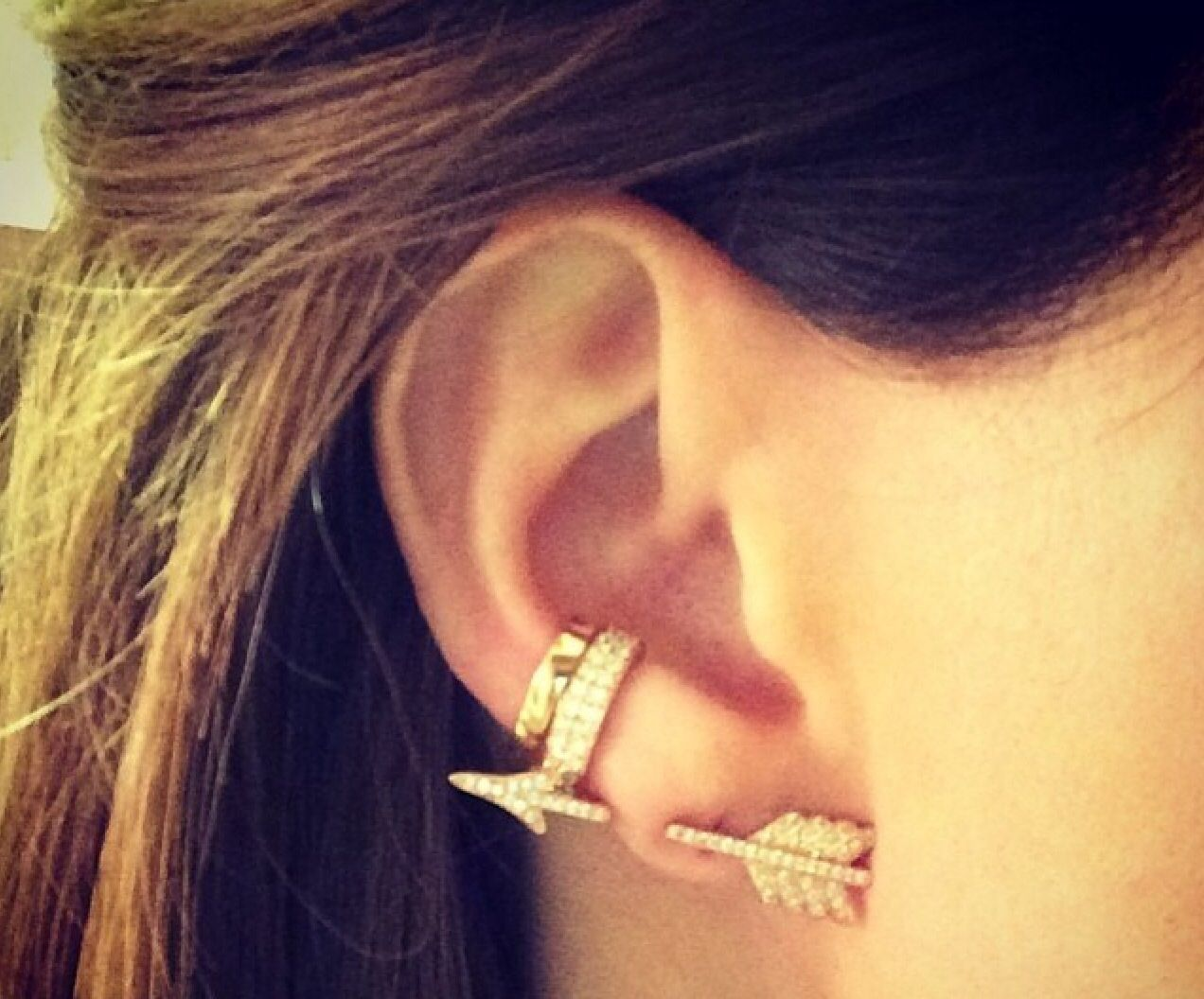 Completely Obsessed With These Anita Ko Arrow Earring And Cuffs Must Have