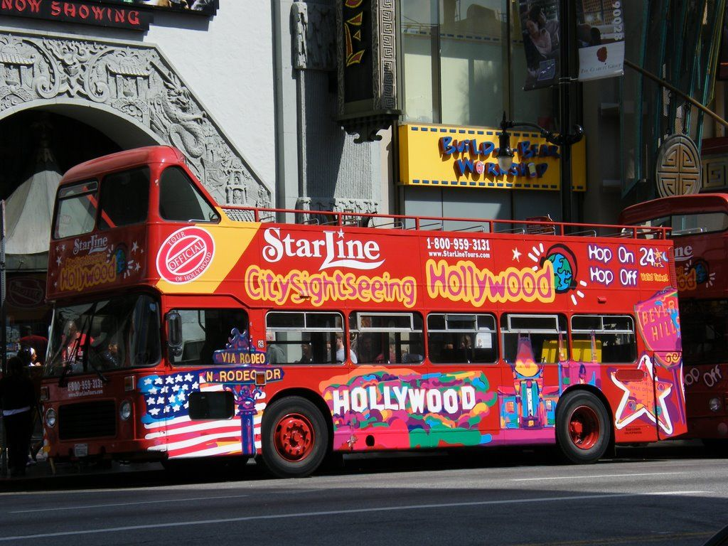 Hollywood Tour Bus Google Search