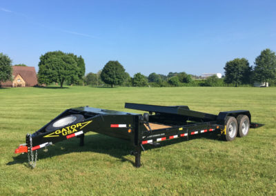 Pin On Flatbed Trailer