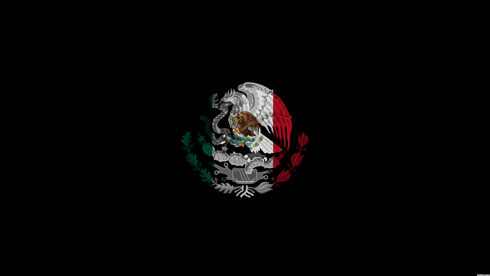 Cool Mexico Flag Wallpaper in 2019 Mexico wallpaper