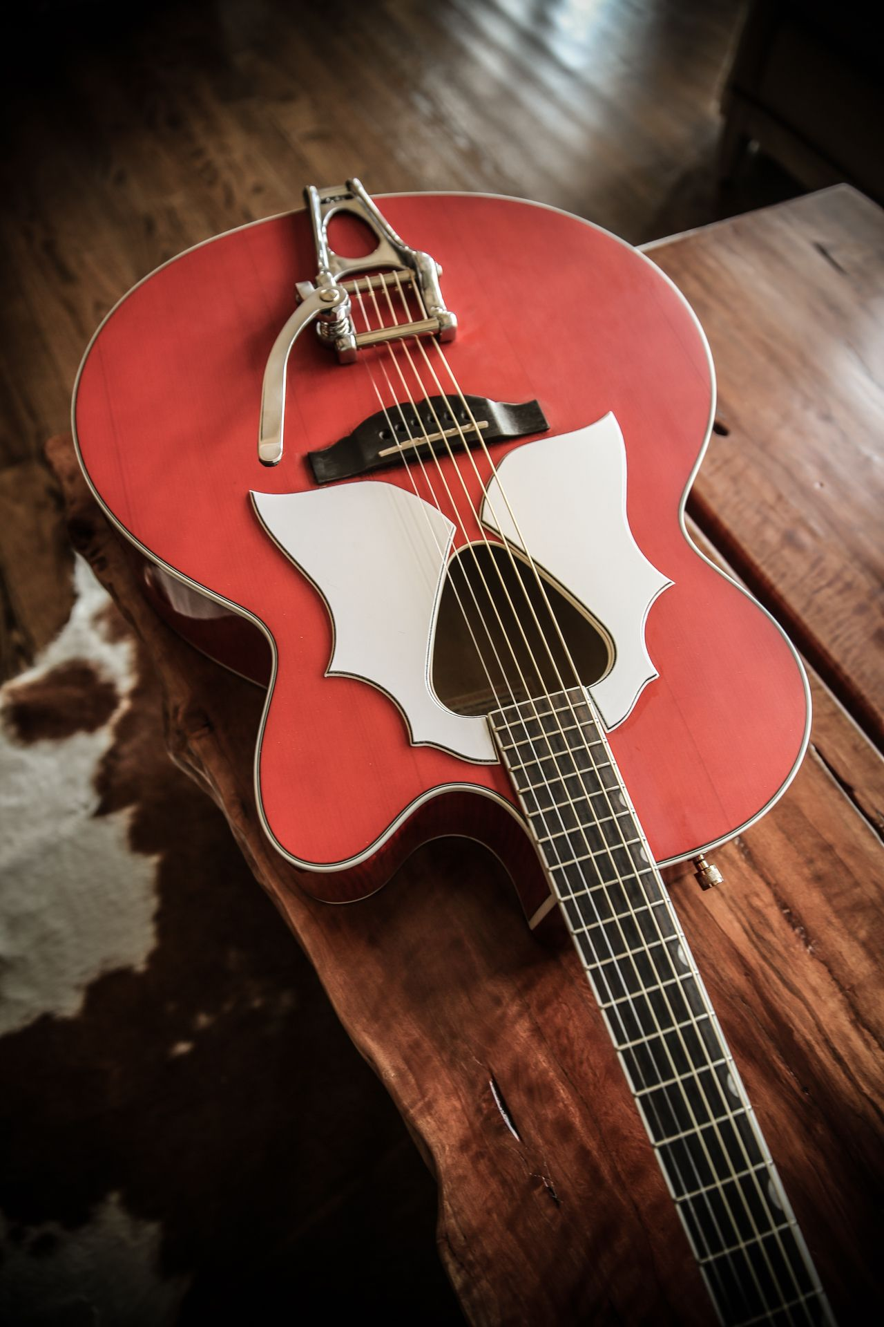 Gretsch Mod I Did On My Jumbo Acoustic This Is A Really Fantastic Sounding Guitar With These Changes