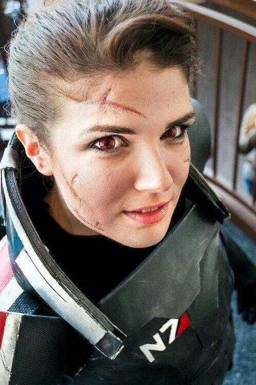Renegade Commander Shepard Mass Effect Cosplay Cosplay