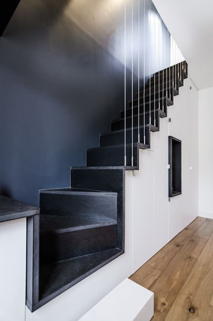Contemporain Escalier By Atelier Mep Modern Stairs Atelier