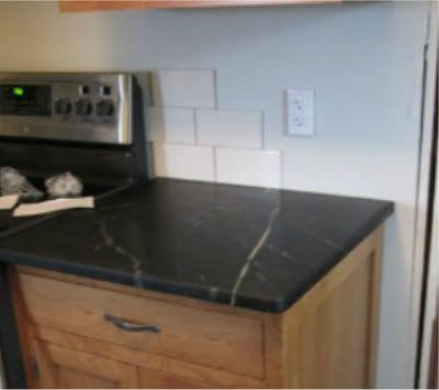 Beautiful DIY Soapstone Counters