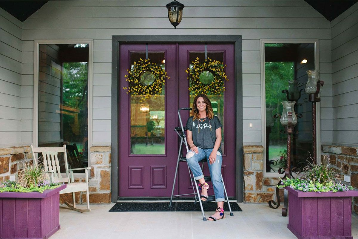 Front Door Makeover Ashley Harris Home Home Is Where The Heart