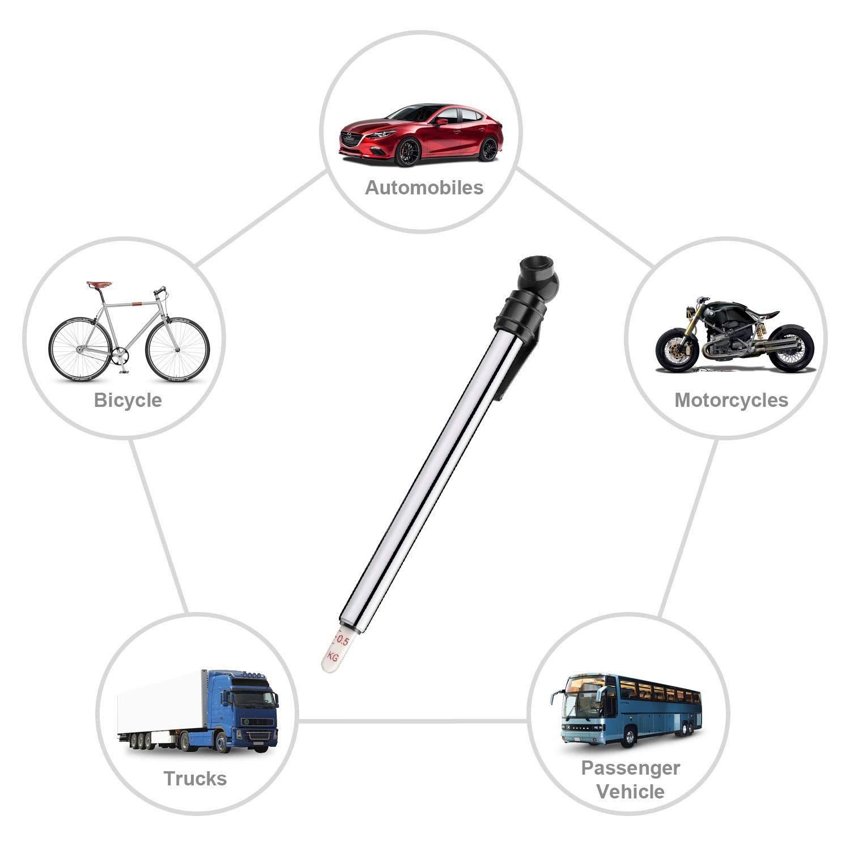 Moroso 89560 Tire Pressure Gauge Dial Type 0-60 psi
