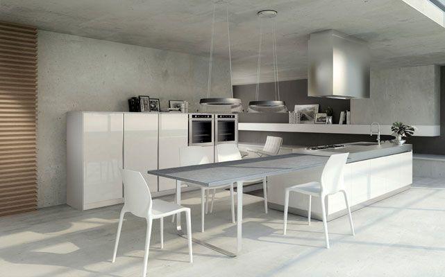 Emejing Cuisine Ilot Central Table Manger Gallery - Design Trends ...