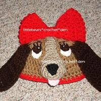 e1ee03b13a1 DISNEY CUSTOM CROCHETED Boutique LADY AND THE TRAMP Beanie Hat from Little  Bears Crochet Den  21.25