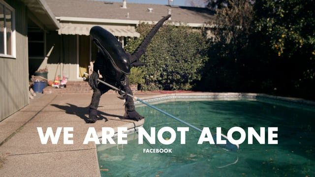 Facebook We Are Not Alone Best Ads Branded Video Pool