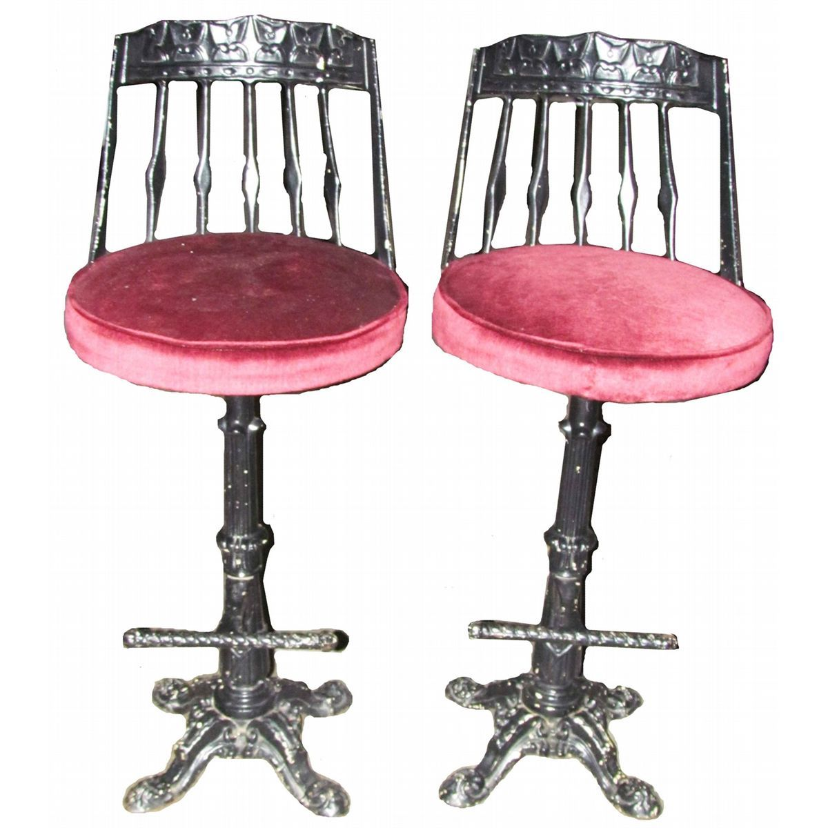 Unique Rot Iron Bar Stools