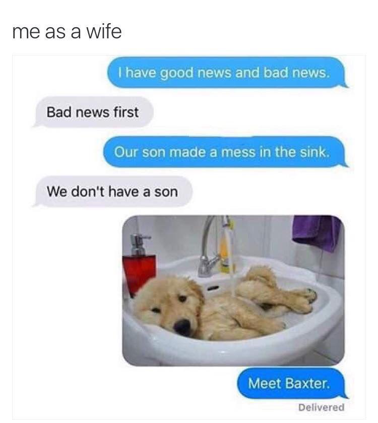 me as a wife meme