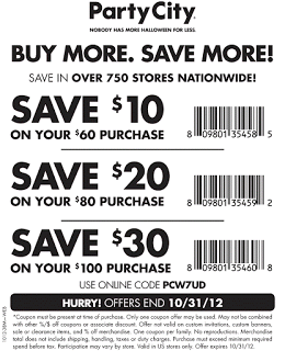 Party City Coupons Party City Printable Coupons Party Printables Free