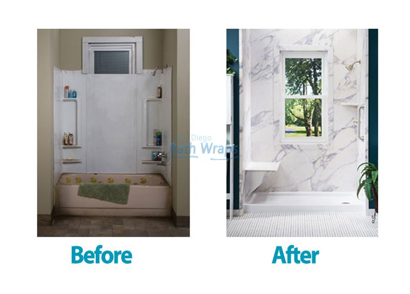 Bath Wraps Bathroom Remodeling. Choosing Just The Right Materials Textures Colors Shower Door And Installation Is What Sango Bath Wraps Can Help You With Visit Our Website