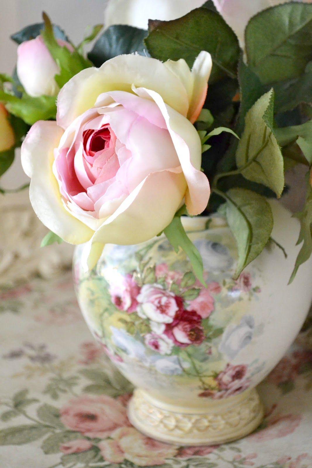 Jennelise for the home pinterest blumen rosen und for Deko topfpflanzen