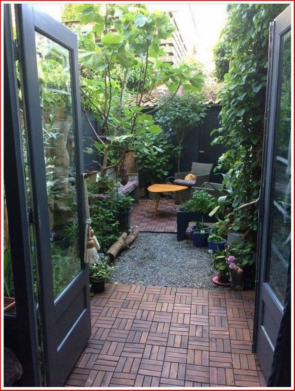 25 Creative Backyard Ideas For Small Yards 00007 In 2020 Patio