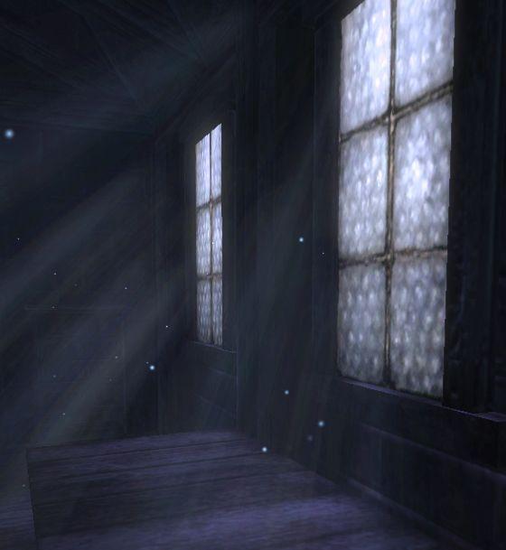 Moonlight Through Window Moonbeam Moonlight Space Painting Yellow Walls