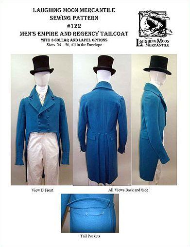 Schnittmuster: 1806-30 Frack in 2018 | Steampunk-Kleidung ...