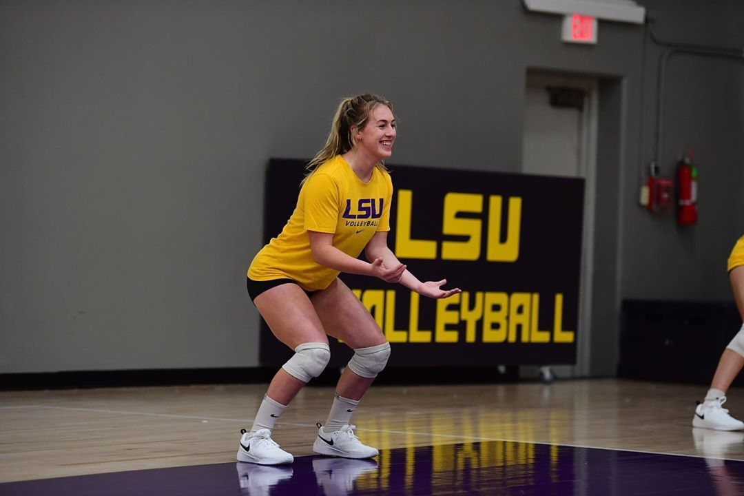 Lsu Volleyball On Instagram Dig Squad Ready In 2020 Lsu Sports Jersey Volleyball