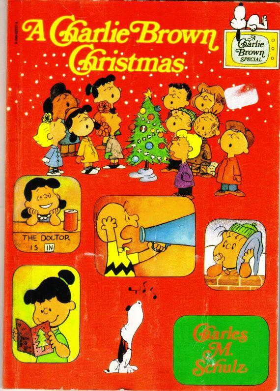 Vintage Peanuts A Charlie Brown Christmas Book 1977   Happy ...