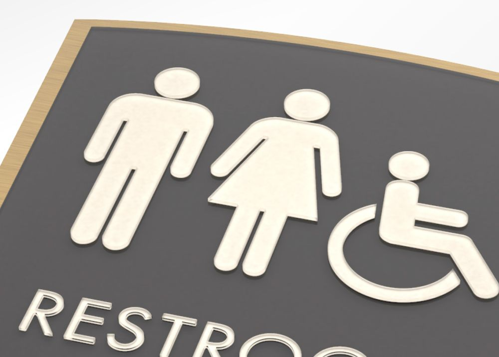 Apex Restroom Signs Will Enrich The Decor Of Your Facility