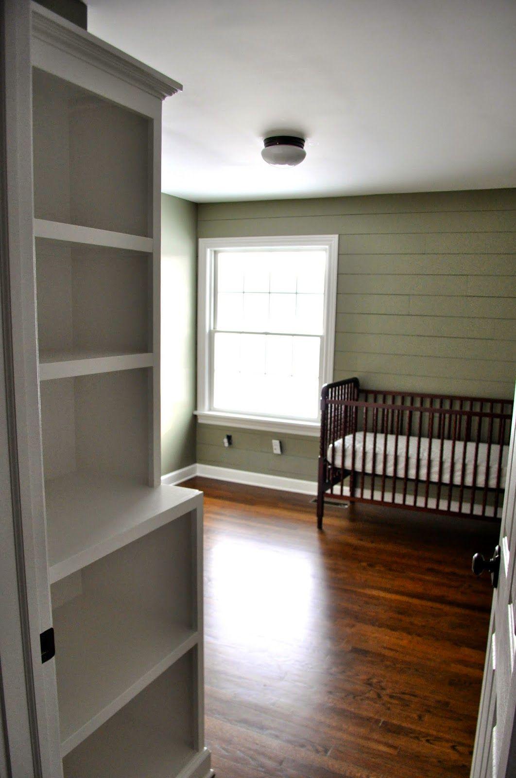 Building A Built In Bookcase Nursery Louisburg Green