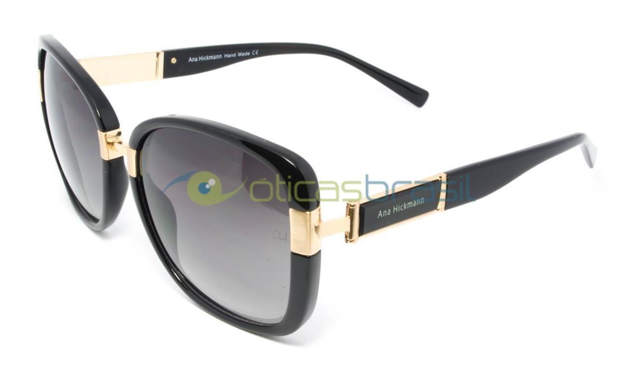 Ana Hickmann AH 9190 A01  A Óticas Brasil oferece um grande estoque de itens para você que é apaixonado por óculos. Nossa entrega é garantida e todos os nossos itens possuem frete grátis para todo o Brasil. Então aproveite nossas promoções e abuse de toda a beleza das principais marcas de óculos da atualidade. Você merece!  http://www.oticasbrasil.com.br/ana-hickmann-ah-9190-a01-oculos-de-sol