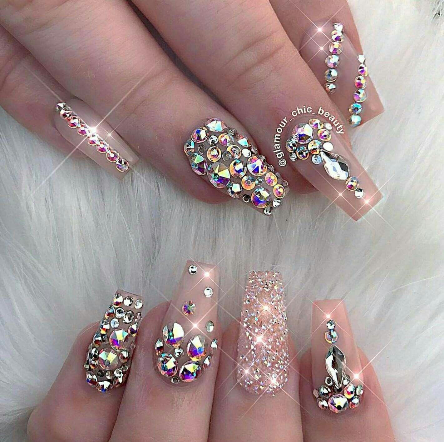 Pin de Christina Reyna en Nails | Pinterest | Unas acrilicas ...