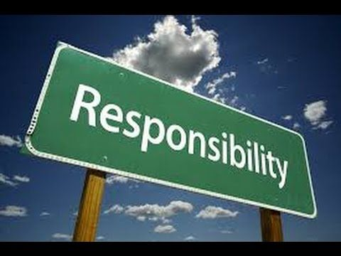 Responsibility Song | Character education, Teaching and For kids