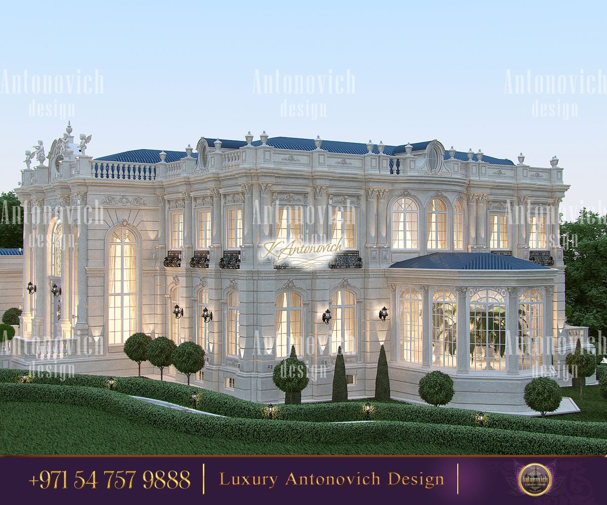 The Most Beautiful View With A Touch Of Splendour Everything Is Possible When The True Specialists Take On A Cas Mansions Classic House Design Luxury Exterior